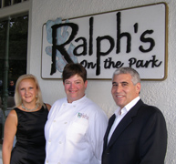 Debra C. Argen, Corporate Executive Chef Haley Gabel Bittermann, Edward F. Nesta - Ralph's on the Park, New Orleans