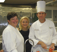 Corporate Executive Chef Haley Gabel Bittermann, Debra C. Argen, Executive Sous Chef Chip Flanagan - Ralph's on the Park, New Orleans