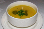 Roast Corn Soup - Rathsallagh House, Dunlavin, Ireland