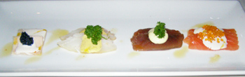 Restaurant 4, Hotel Ranga, Hella, Iceland - Fish Quartet - Photo By Luxury Experience