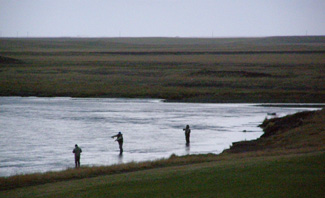 Salmon Fishermen at Hotel Ranga, Hella, Iceland - Photo by Luxury Experience