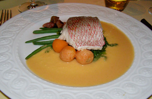 Restaurant JEAN-LOUIS, Greenwich, Connecticut, USA - Red Snapper - Photograph by Luxury Experience