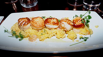 Sea Scallops - Revival Kitchen and Bar - Concord, NH - photo by Luxury Experience