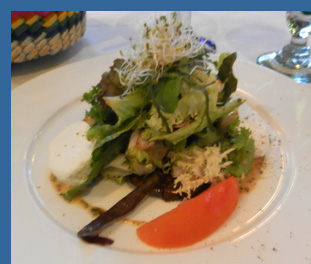 Salad - River Cafe, Puerto Vallarta, Mexico - photo by Luxury Experience
