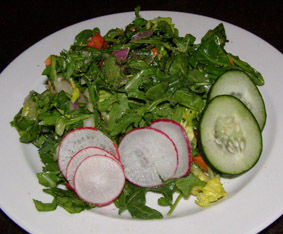 Rocker@Squaw - Raw Chop Chop Salad - Photo by Luxury Experience