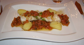 Rôtisserie des Chevaliers - Monkfish with Sauce