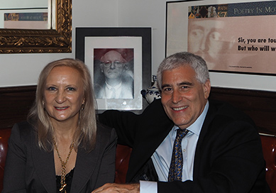 Russian Samovar Restaurant - Debra C. Argen and Edward F. Nesta - photo by Luxury Experience