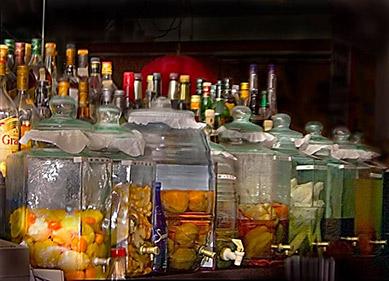 Russian Samovar Restaurant - Infused Vodka