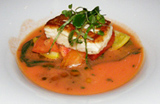 Halibut - The Saddle Room, The Shelbourne Hotel, Dublin, Ireland