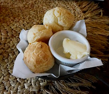 Pao de queijo - Samba Montclair, NJ USA - photo by Luxury Experience