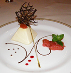 La Cascade, Sheen Falls Lodge, Kenmare, County Kerry, Ireland - ginger and lemongrass parfait