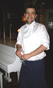 Chef Haftor Sveinsson of Silfur restaurant, Reykjavik, Iceland - Photo By Luxury Experience