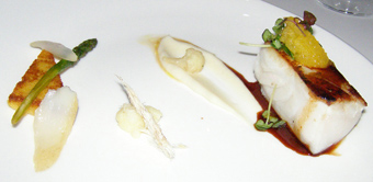 Cod with Cardamom Glaze - Silfur Restaurant, Reykjavik, Iceland - Photo By Luxury Experience