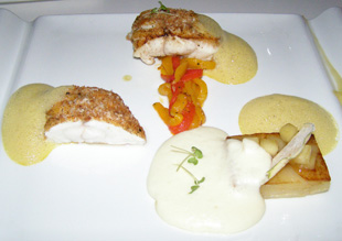 Monkfish with Smoked Herring - Silfur Restaurant, Reykjavik, Iceland - Photo By Luxury Experience