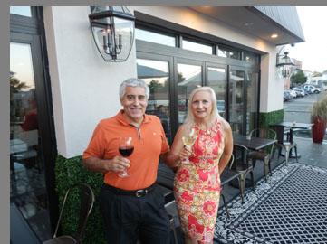 Edward F Nesta, Debra C. Argen - Sixty 5 on Main - Nyack, NY - photo by Luxury Experience