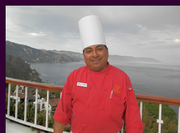 Chef Vidal Mezela Noh - Grand Miramar,Puerto Vallarta - photo by Luxury Experience