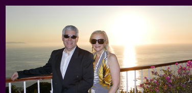 Sunset - Edward Nesta, Debra Argen - Puerto Vallarta - photo by Luxury Experience