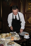 Steensgaard Herregaardspension - Denmark - Jonas Preparing the cheese plates