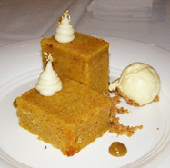 Carrot Cake at The Supper Room at Glenmere Mansion, Chester, New York - Photo by Luxury Experience