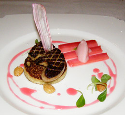 Glenmere Mansion - The Supper Room - Foie Gras - photo by Luxury Experience