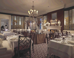 The Supper Room at Glenmere Mansion, Chester, New York