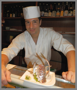 Aji - Head Sushi Chef David Bouhadana- photo by Luxury Experience
