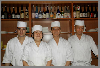 Sushi Dojo Team - photo by Luxury Experience