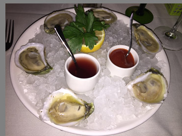 Blue Point Oysters - Tbar NYC - Photo by Luxury Experience