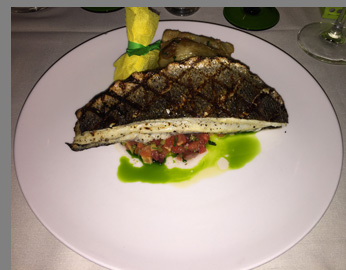Mediterranean Branzino - Tbar NYC - Photo by Luxury Experience