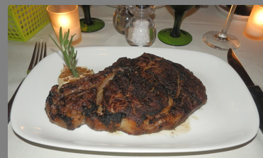 Prime Aged Rib Eye - Tbar NYC - Photo by Luxury Experience