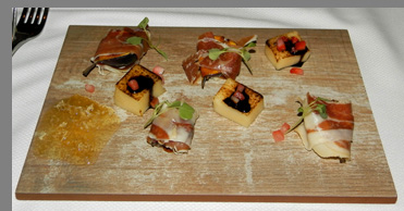 Amuse Bouche - TS Steakhouse, Verona, NY, USA - photo by Luxury Experience