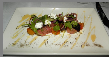 Roasted Beets - TS Steakhouse, Verona, NY, USA - photo by Luxury Experience