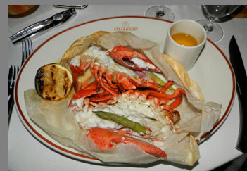 Lobster - TS Steakhouse, Verona, NY, USA - photo by Luxury Experience