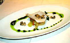 Restaurant Tantris amuse Bouche