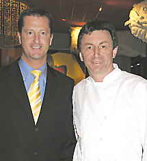 Restaurant Tantris Dominque Metzger Manager and Chef  Hans Haas