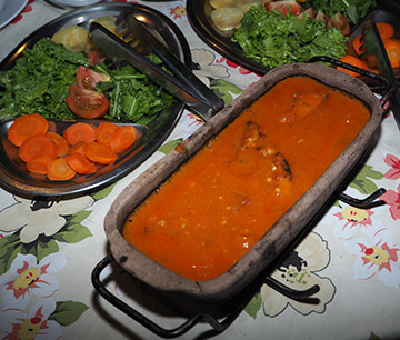 Natelha - Pintado in spicy tomato sauce - photo by Luxury Experience