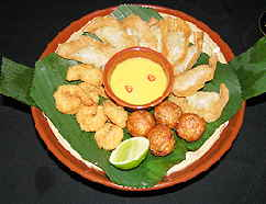 Thai at the Casa Grande Hotel & Resort mixed appetizers