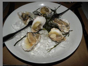 Kusshi Oysters - photo by Luxury Experience