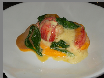 White Miso Buttered Lobster - photo by Luxury Experience