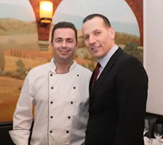 Chef Eddie and Owner Steve H - photo by Luxury Experience