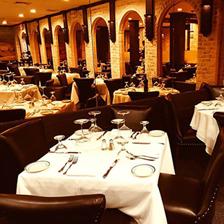 Tuscany Steakhouse Dining Room - NY, NY, USA