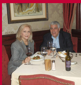 Debra C. Argen and Edward F. Nesta-photo by Luxury Experience