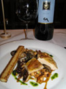 Guinea Fowl served at VAU in Berlin, Germany