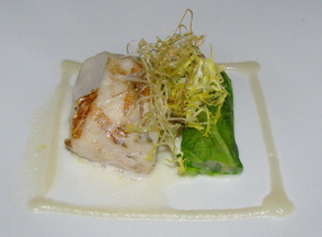 Alaskan Cod at The Dining Room at Wheatleigh, Lenox, Massachusetts  - Photo By Luxury Experience