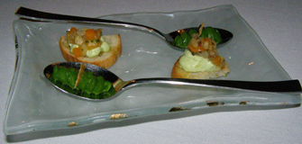 Amuse Bouche at The Dining Room at Wheatleigh, Lenox, Massachusetts  - Photo By Luxury Experience