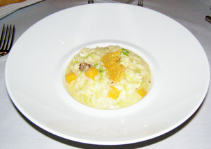 White Alba Truffle Risotto at The Dining Room at Wheatleigh, Lenox, Massachusetts  - Photo By Luxury Experience