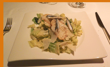 Caesar Salad - Wildflowers, Verona, NY - photo by Luxury Experience