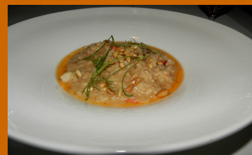 Lobster Risotto - Wildflowers, Verona, NY - photo by Luxury Experience