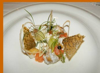 Smoked Salmon - Wildflowers, Verona, NY - photo by Luxury Experience