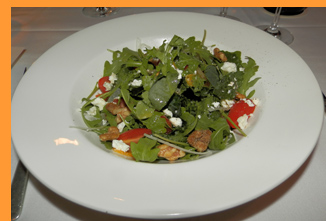 Arugula Salad - Winston Restaurant, Mt. Kisco, NY - photo by Luxury Experience
